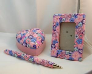 Kayla's Pink Floral Set