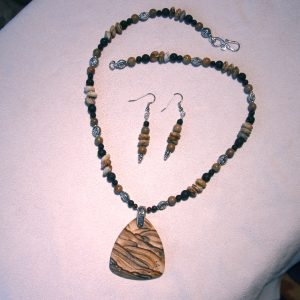 Lovely natural stone, picture jasper