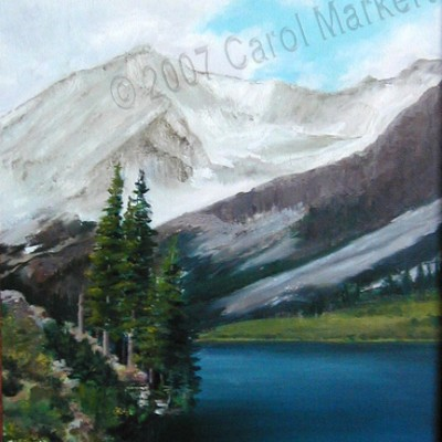 Geneva Lake - oil painting