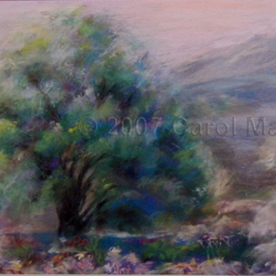 Morning Light - Pastel
