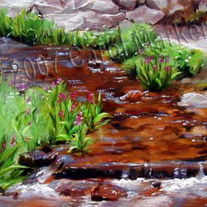 Clear Cool Water - oil painting