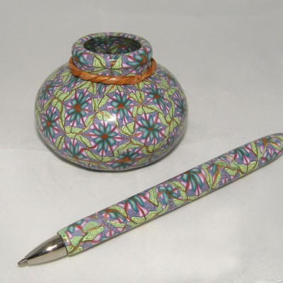 polymer clay pen